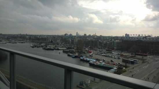 DoubleTree by Hilton Hotel Amsterdam Centraal Station: View from Room