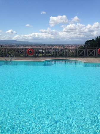 Villa Tolomei Hotel and Resort : Infinity pool