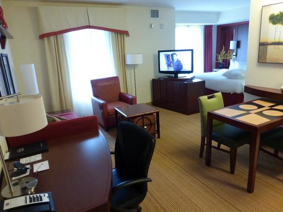 Residence Inn Pittsburgh Monroeville/Wilkins Township : View from entry