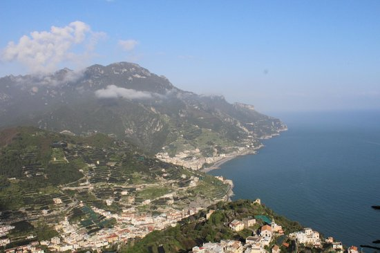 Palazzo Avino: View from our Sea View Queen Room