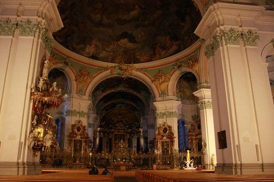 Fürstabtei St. Gallen: Interior da igreja