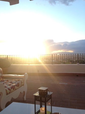 Villa Tolomei Hotel and Resort : Sun Florence
