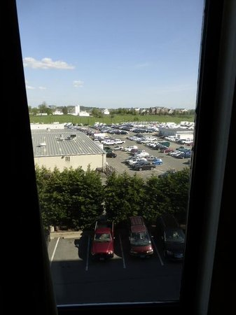 Comfort Inn Shady Grove: Room view from 4th floor