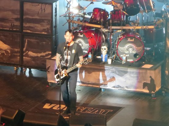 Louisville Palace: Volbeat 4-24-14