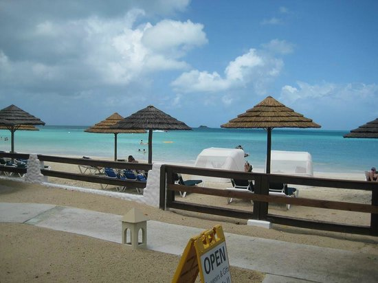 Sandals Grande Antigua Resort & Spa : beach was amazing