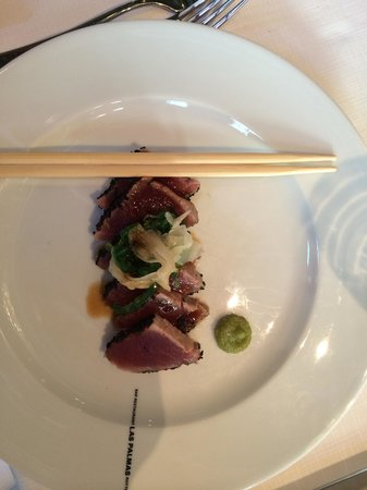 Las Palmas: Sashimi van Tonijn