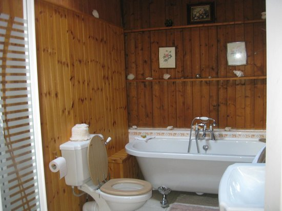 Cairbre House: Bathroom with soaking tub!