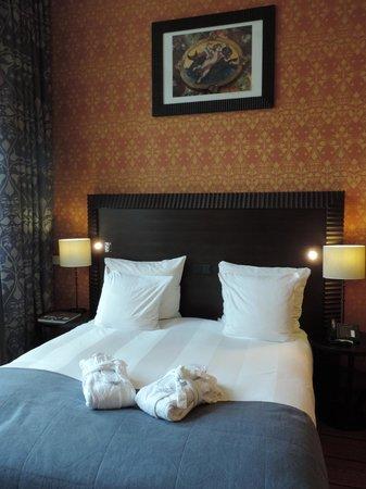 Grand Hotel Amrath Amsterdam: la chambre