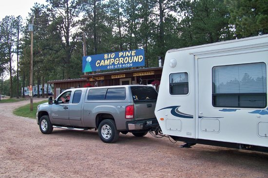 Big Pine Campground: Checking in at Big Pine