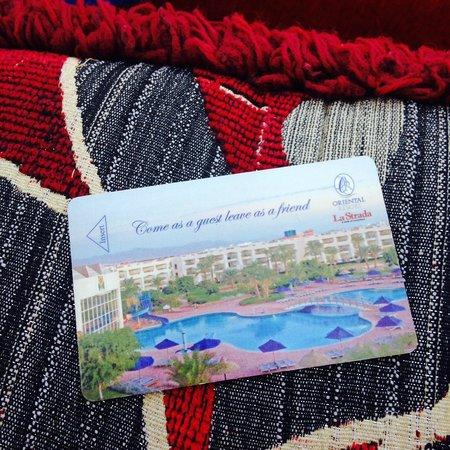 Aurora Oriental Resort Sharm El Sheikh: Room key :)