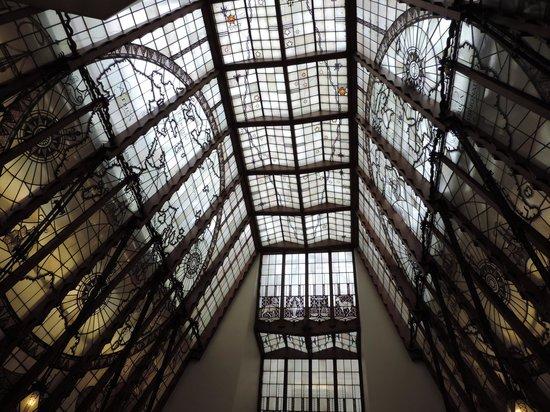 Grand Hotel Amrath Amsterdam: la verrière