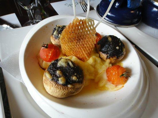 Spijshuis de Dis Restaurant: mushrooms