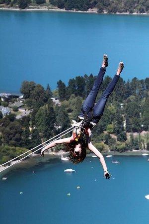 AJ Hackett Bungy New Zealand: Woo hoo