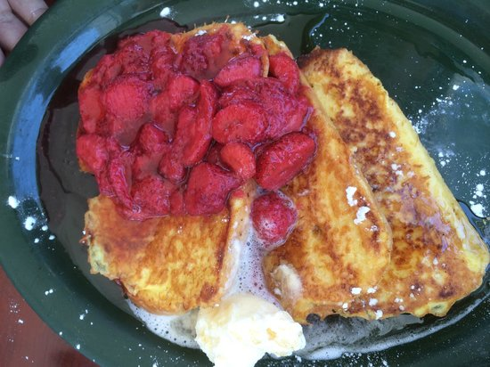 Keltic Kitchen : Strawberry French Toast