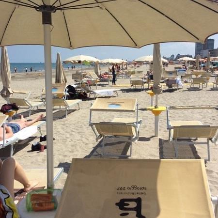 Bellettini Hotel: spiaggia
