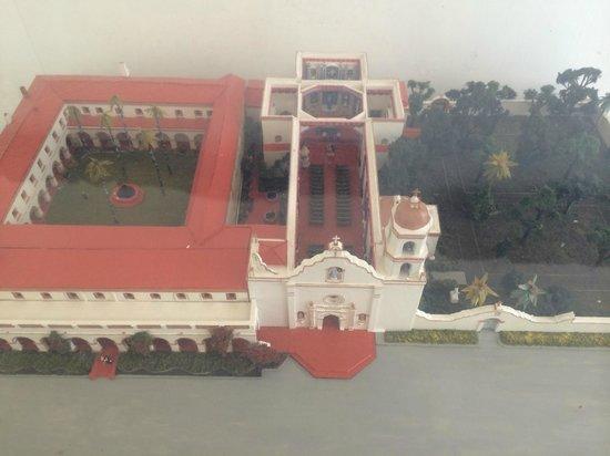 Mission San Luis Rey model