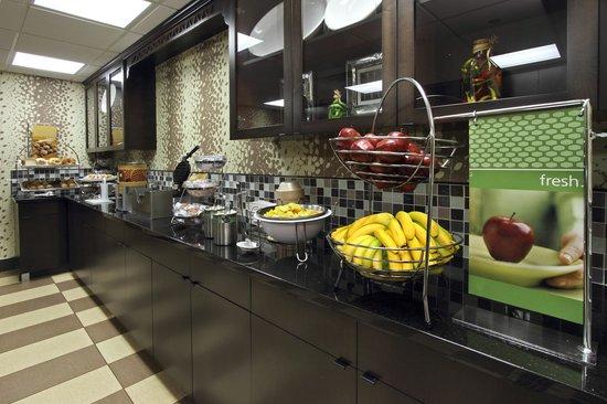 Hampton Inn & Suites Newtown: Best Fresh Breakfast in the Area