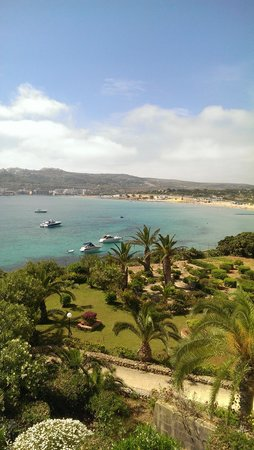 Mellieha Bay Hotel : view from our balcony