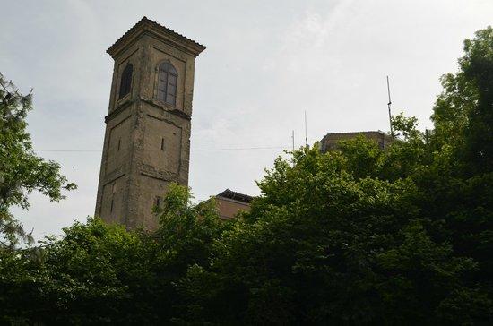 Pianoro, Italia: Monte delle Formiche - Sactuary tower