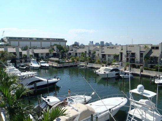 Hilton Fort Lauderdale Marina: vista marina