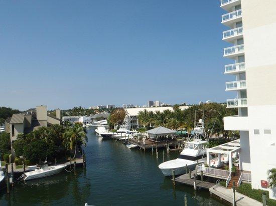 Hilton Fort Lauderdale Marina: linda  vista