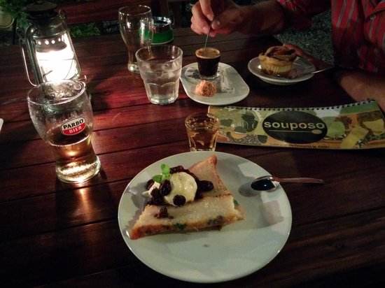 Souposo : Dessert