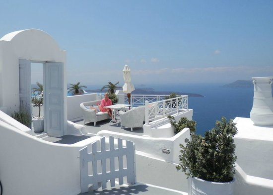 Cliff Side Suites: Our Terrace