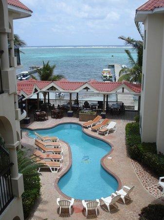 SunBreeze Suites: vue du balcon