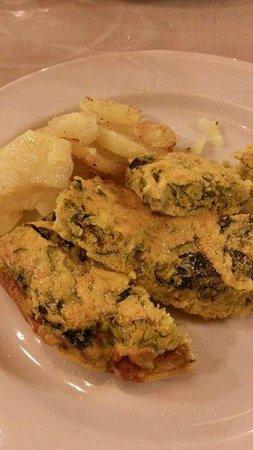 Hotel Mauro: Dinner - Egg