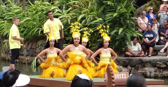 Polynesian Cultural Center: haiti