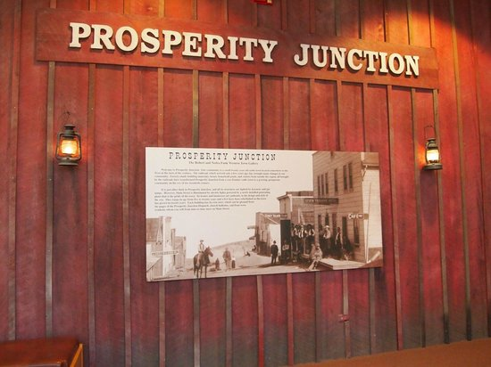 National Cowboy & Western Heritage Museum: Replica of a Small Western Town
