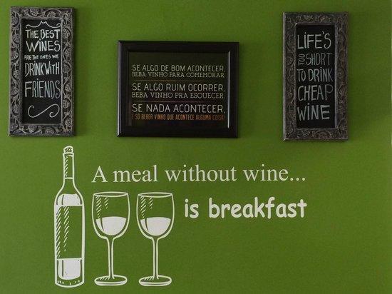 Bistro Wall Art - Picture of Wine Bar Bistro Da Praca, Sintra ...