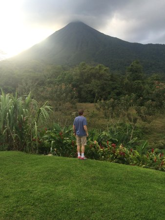 Hotel Lomas del Volcan: Our View of Arenal