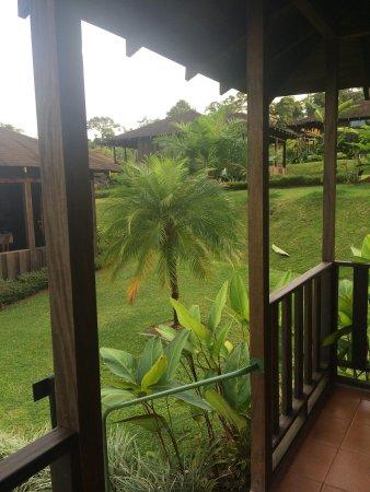 Hotel Lomas del Volcan: The patio
