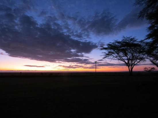 Ol Tukai Lodge: sunrise
