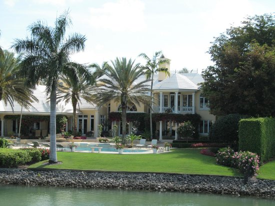 Pure Florida: One of the homes along the Gordon River