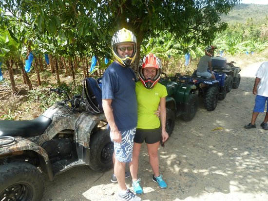 Aanansi ATV Tours: Ready to ride the ATV