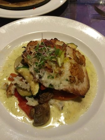 Pulehu: Risotto Crusted Catch of the Day