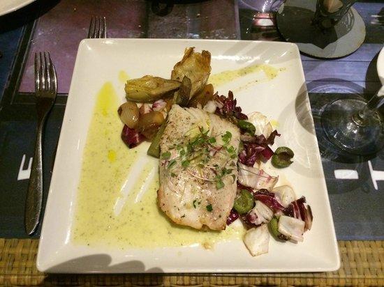 Pulehu: Grilled Opah with Basil Pesto