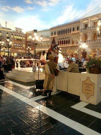 The Venetian Las Vegas : shops
