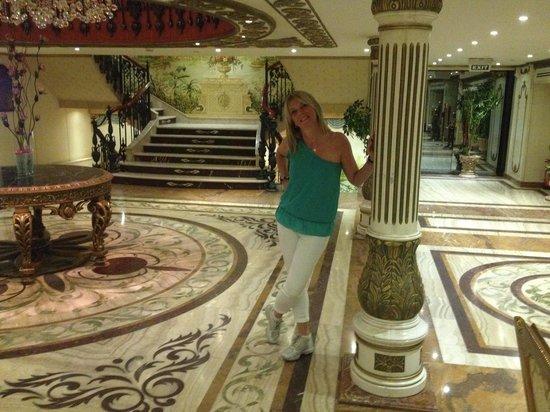 Sonesta St. George Hotel Luxor: Salone interno sonesta st geoge