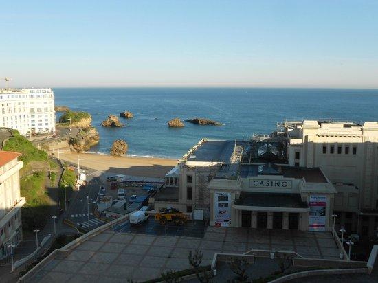 Mercure Biarritz Centre Plaza: vue de la chambre