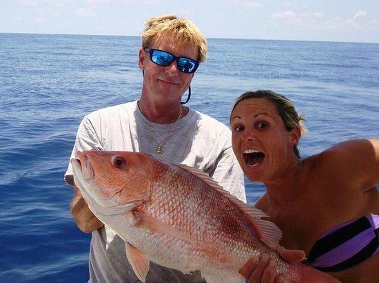 Fishing Charters with Captain Matt Santiago: Big Red Snapper