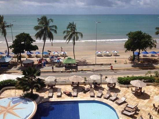 Aquaria Natal Hotel : vista do quarto