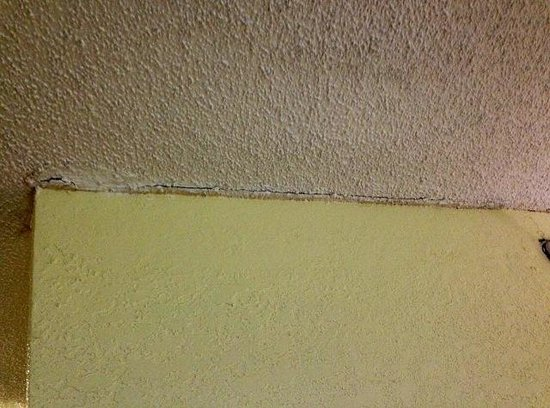 Ramada Plaza Atlanta Downtown Capitol Park: Ceiling need to be repaired like many other areas before selling the rooms.   This is not a 3