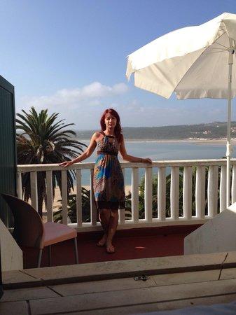 Inatel Foz Do Arelho : Потрясающий вид с балкона нашего номера!!!