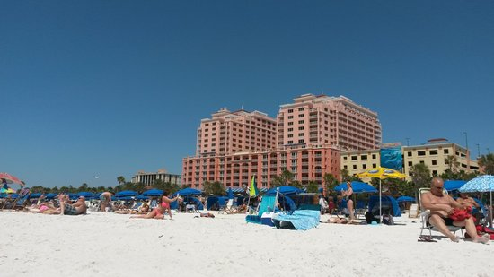 Pelican Pointe Hotel and Resort: The beach