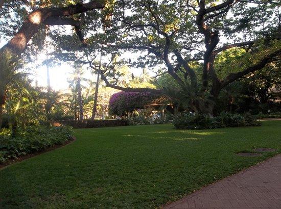 Hale Koa Hotel: Hale Koa grounds