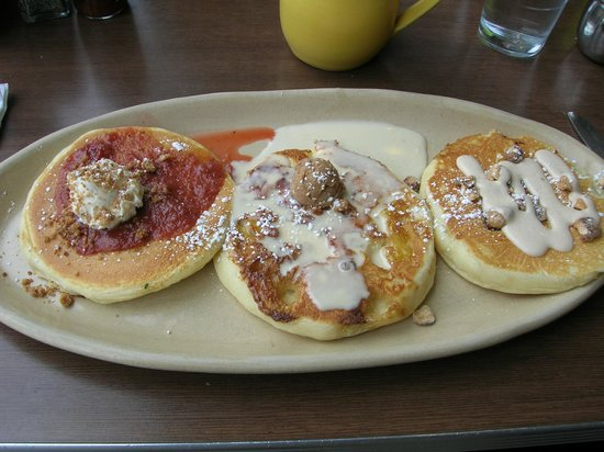 Snooze : flight of pancakes - combo 1