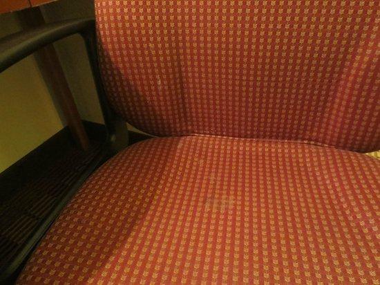 Best Western East Brunswick Inn : Silla manchada